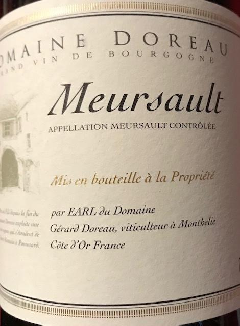 Meursault 2017  -  75 cl