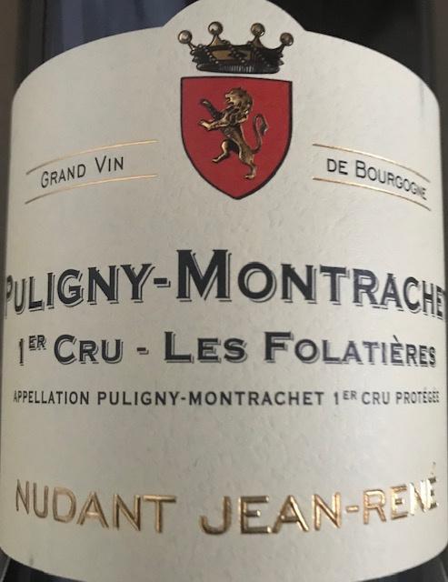 """Puligny Montrachet 1er Cru """"Les Folatières"""" 2018 - 75 cl"""