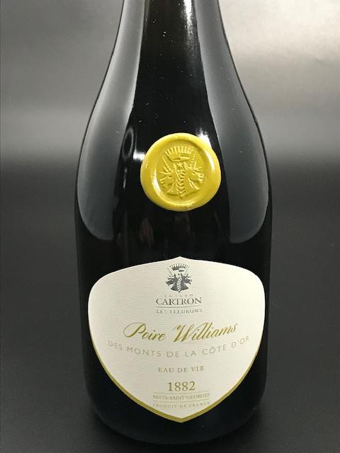 Poire William des Monts de la Côte d'Or 49° - Bouteille 70 cl sous étui