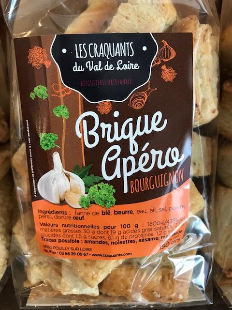 Biscuits apéritifs Bourguignons - 150g