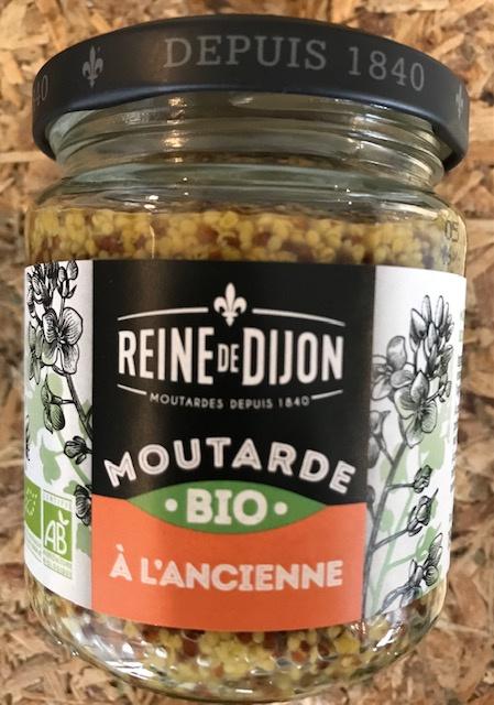 Moutarde De Dijon à l'Ancienne BIO -  190 gr