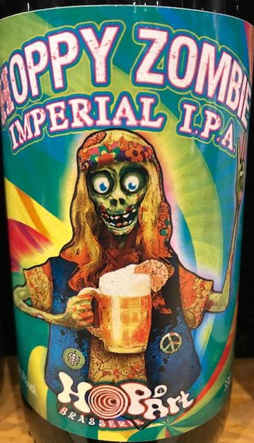 """Bière Impériale I.P.A """" Hoppy Zombie"""" - 7 % - 33 cl"""