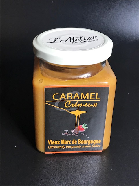 Caramel Crémeux Vieux Marc de Bourgogne - Pot 280 gr