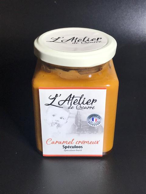 Caramel Crémeux Spéculoos - Pot 280 gr