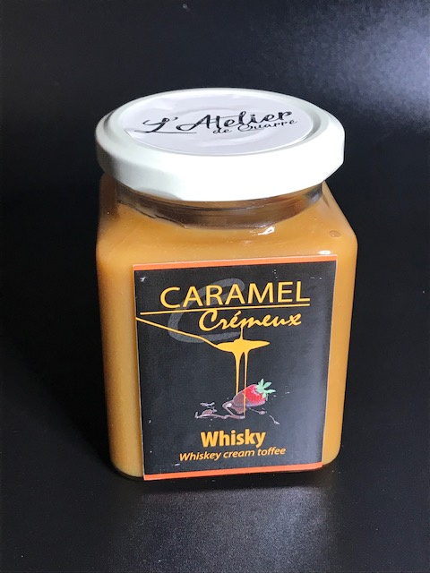Caramel Crémeux Whisky - Pot 280 gr