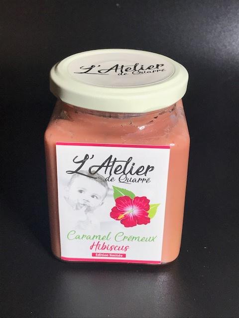 Caramel Crémeux Hibiscus - Pot 280 gr