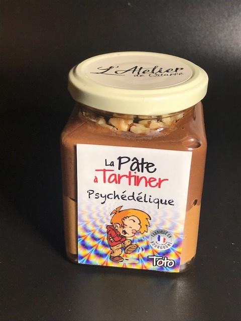 Pâte à Tartiner Psychédélique - Pot 280 gr