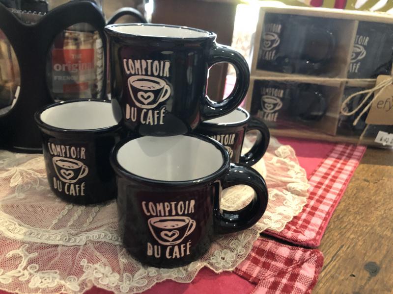 Set de 4 tasses à café