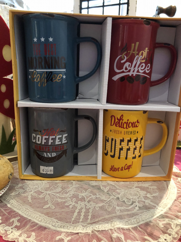Coffret mugs Vintage
