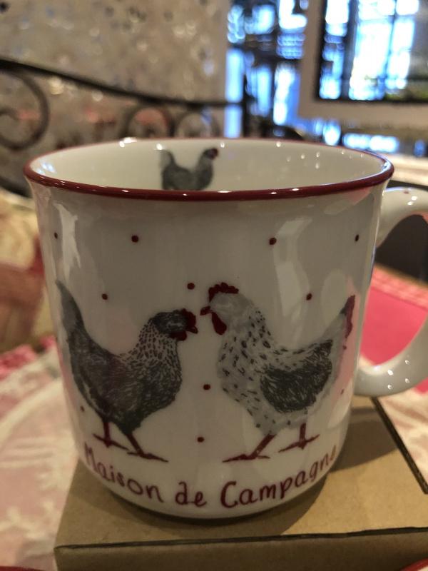 Mug cocotte