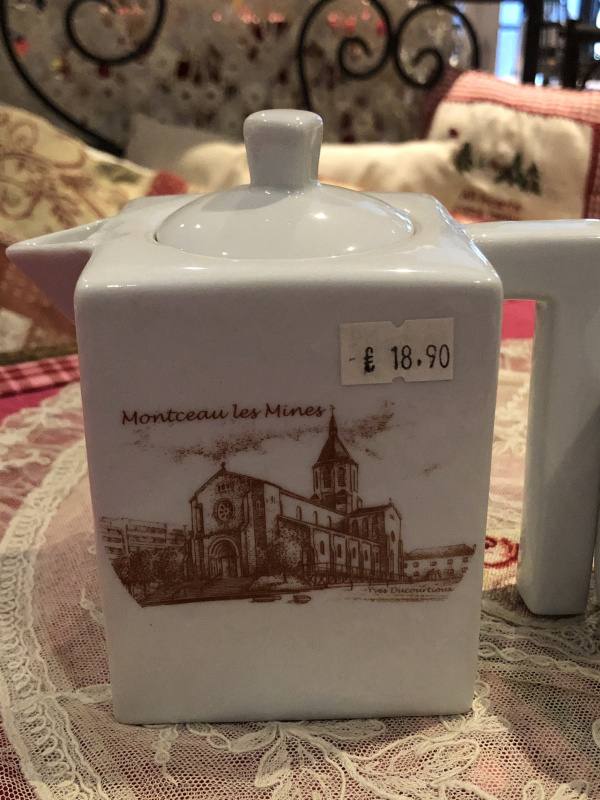 Théière Montceau + tasse
