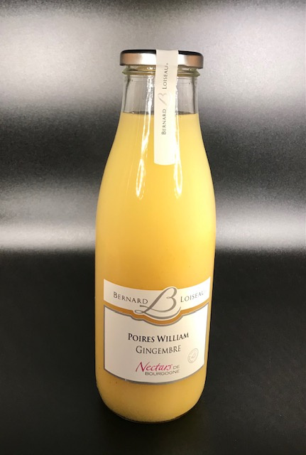 Nectar de Poires Williams et Gingembre (Loiseau) - 75CL