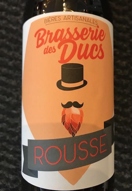Bière Rousse 5.5 ° 33 cl