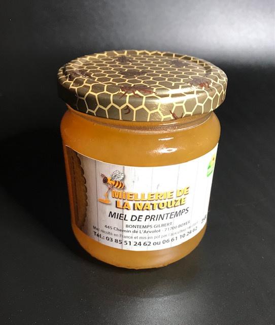 Miel de Printemps - Pot de 250 gr