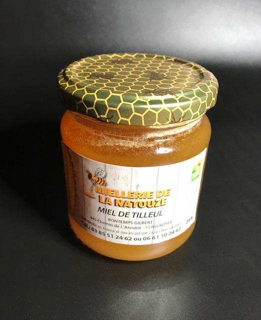 Miel de Tilleul - Pot de 250 gr
