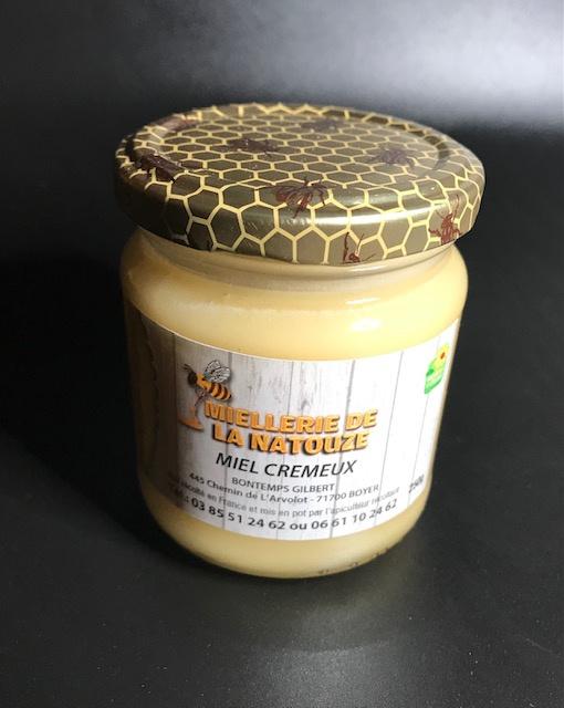 Miel Crémeux - Pot de 250 gr