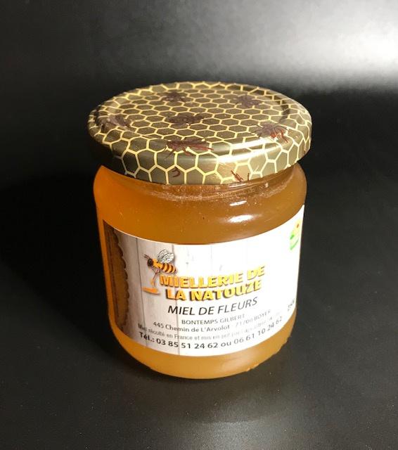 Miel de Fleurs - Pot de 500 gr