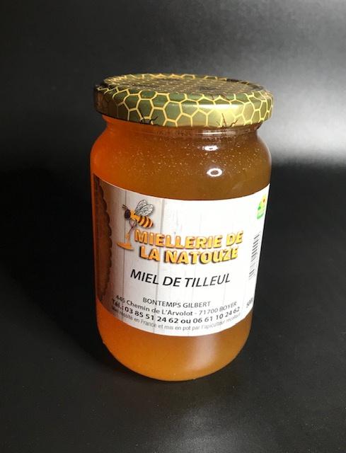 Miel de Tilleul - Pot de 500 gr