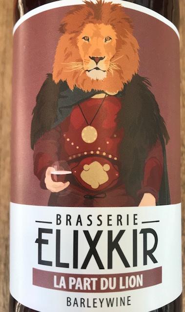 """Bière Barley Wine - """" La Part du Lion"""" - 33 cl"""