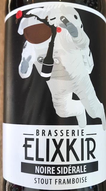 """Bière Stout Framboise """" Noire Sidérale """" - 33 cl"""
