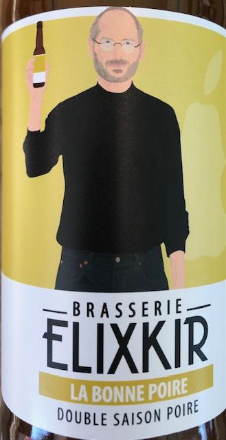 """Bière double Saison Poire """" La Bonne Poire """" 33 cl"""