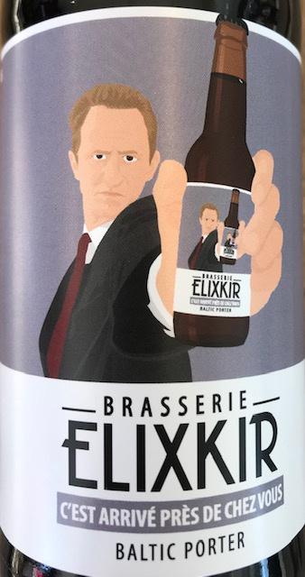 """Bière Noire - Baltic Porter """" C'est arrivé près de chez vous"""" - 33 cl"""