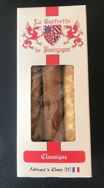 La Gaufrette de Bourgogne-Étui cartonné 3 gaufrettes Nature