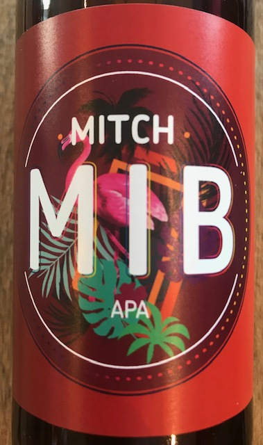 """Bière Blonde American Pale Ale """" Mitch """" 33 cl"""