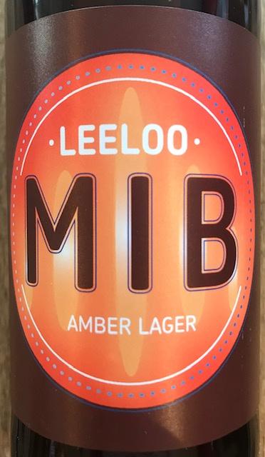 "Bière Ambrée Amber Lager "" Leeloo "" 33 cl"