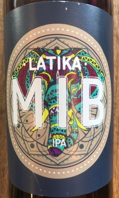 """Bière Blonde India Pale Ale """" Latika """" 33 cl"""