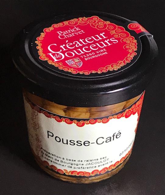 Pousse Café Raisins Secs au Marc de Bourgogne - Verrine 110 gr