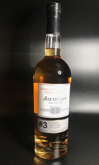 Whisky #3 - 43° - 70 cl bouteille sous étui