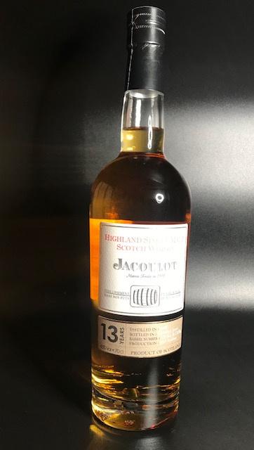 Whisky 13 ans d'âge  - 43° - 70 cl bouteille sous étui