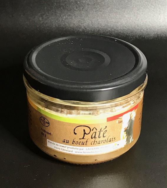 Pâté au Boeuf Charolais - Pot 180 gr