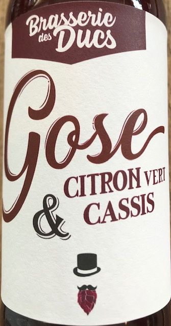 Gose Citron Vert/Cassis 5.1% - 33 cl