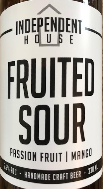 Fruited Sour Passion fruit/Mango 5.5 % - 33 cl