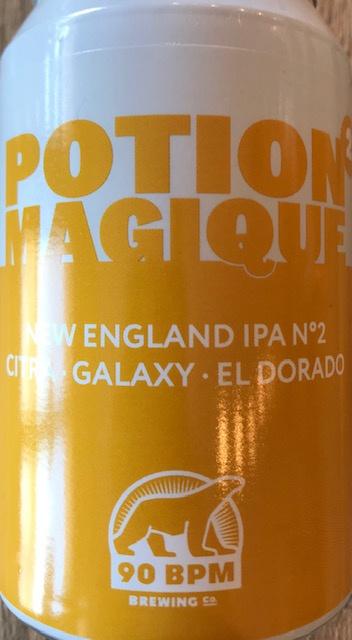 Potion Magique 2 - Citra El Doradoj  New England IPA - Canette 33 cl