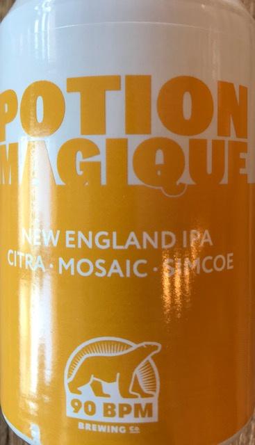 Potion Magique 1 - Citra Mosaïc Simcoe New England IPA - Canette 33 cl
