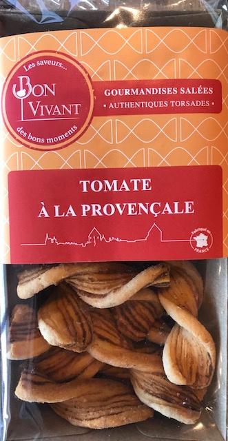 Mini Torsades Tomates Provençale - Barquette 80 gr