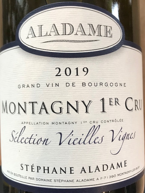 """Montagny 1 er Cru """" Sélection Vieilles Vignes """" 2018 - 75 cl"""