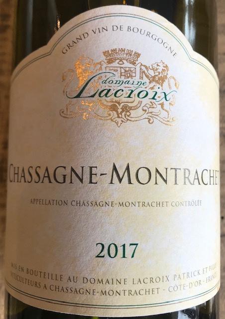 Chassagne Montrachet Village 2017 - 75 cl