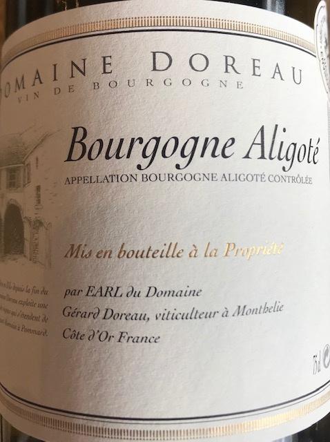 Bourgogne Aligoté 2018 - 75 cl
