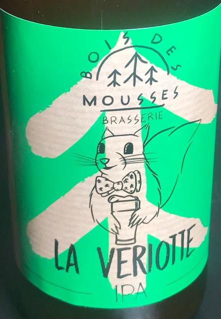 """Bière Blonde IPA """" La Veriotte """" - 6 % - 33 cl"""