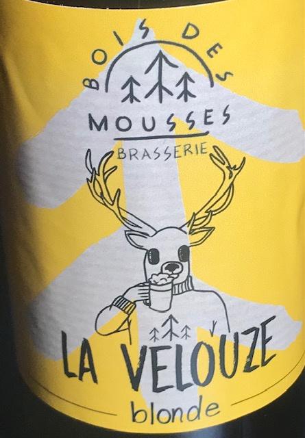 """Bière Blonde """" La Velouze """" - 5.6 % - 33 cl"""