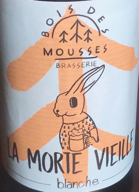 """Bière Blanche """" La Morte Vieille """" - 5.6 % - 33 cl"""