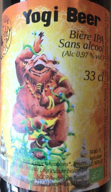 "Bière ""  YOGI "" IPA Sans Alcool (0.97%) - 33cl"