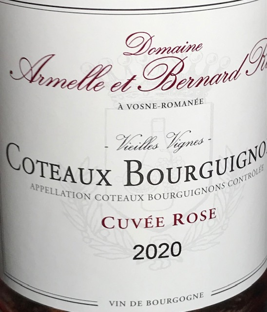 Coteaux Bourguignons Rosé 2020 - 75 cl