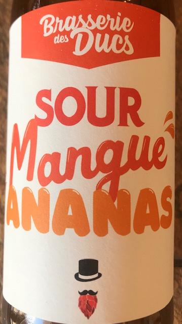 Bière Type Sour Mangue et Ananas