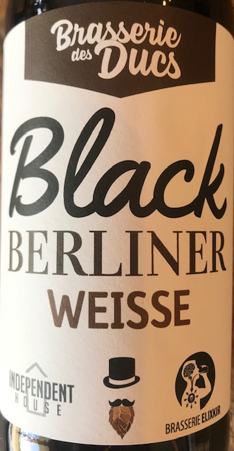 Bière Black Berliner Weisse