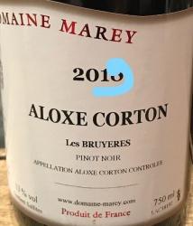 "Aloxe Corton 2019  ""Les Bruyères"" - 75cl"